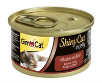 Gimcat shinycat in jelly kip / rund
