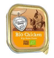RENSKE Kat Biologisch Vers Vlees - Kip - 19 x 85 gram