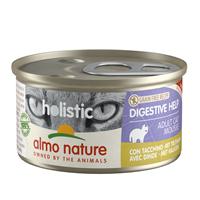 Almo Nature Natvoer voor Katten - Holistic Digestive Help - 24 x 85g