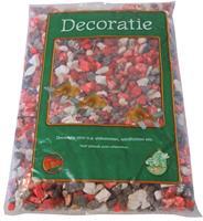 Gebr. de Boon Zak a 0.9 kg split mix zwart/wit/rood