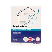 Flea Free Ectoline Duo Hond 2-10 kg - 2 pipetten