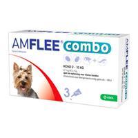 Amflee Combo Spot-on Hond - 67 mg (2-10kg) - 3 pipetten