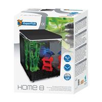 superfish home 8 aquarium zwart