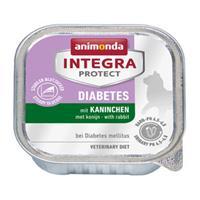 Animonda Integra Protect Cat Diabetes Konijn - 16 x 100 g