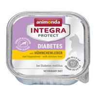 Animonda Integra Protect Cat Diabetes Kippenlever - 16 x 100 g