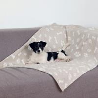 Trixie Deken Kenny voor hond en kat Grijs 100 x 75 cm