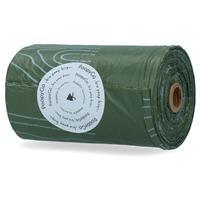 poopygo Poepzakjes Lavendelgeur Single Roll - Hondenpoepzakjes - 21X33 cm Groen Wit 15 stuks