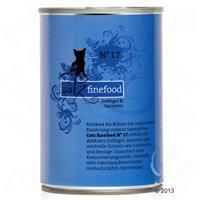 Catz finefood Blik Kattenvoer 6 x 400 g - Lam & Konijn