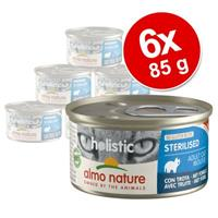 Almo Nature Holistic Specialised Nutrition Kattenvoer 6 x 85 g - Urinary Help met wit vlees