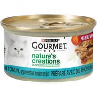 Gourmet Nature's Creations Tonijn kattenvoer 24 x 85 gram