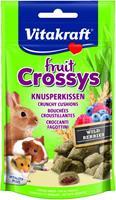 Vitakraft Fruit Crossys - knaagdiersnack - 50gram