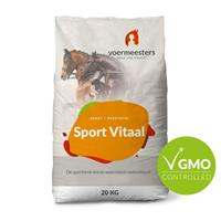Voermeesters Sport vitaal - Sport/ Prestatie - 20kg - Zak