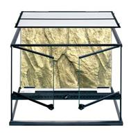 Exo Terra Glasterrarium - 60x45x45 Incl. Achterwand
