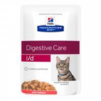 Hill's Prescription Diet Hill's Prescription I/D (i/d) Digestive Care kattenvoer zalm 85 g zakje 12 x 85 gram