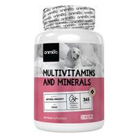 Multivitaminen en mineralen voor honden - 365 tabletten - Animigo