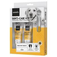 Tandpasta voor Honden en Katten + Tandenborstels - 2 x 100 g hondentandpasta