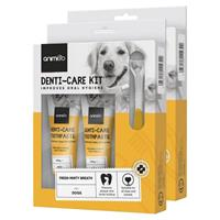 Denti-Care Toothpaste - Daily Use Edible Toothpaste for Cats and Dogs - Animigo - 70g Tube - 2 Pack