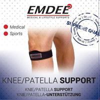 Emdee Supportband Knie Of Patella Zwart