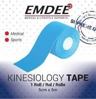 Emdee Kinesiology Tape Licht Blauw Non Cut
