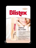 Blistex Lip Triple Butters Stick Blisterverpakking
