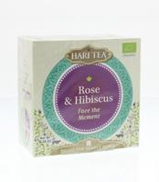 Hari Tea Face the moment rose & hibiscus 10st