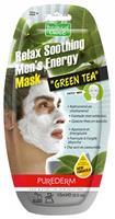 Purederm Gezichtsmasker Green Tea voor Mannen 15 ml