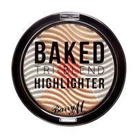 Barry M Tri-Blend Baked Highlighter Silver Solstice