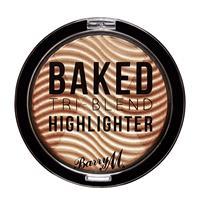 Barry M Tri-Blend Baked Highlighter Bronze Deco