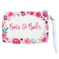 Floral Fusion Bits & Bobs Pouch Bag