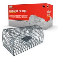 peststop PEST STOP Multicatch Rat Cage Niet dodelijke val Lokstof 1 stuk(s)
