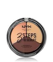 NYX Professional Makeup Medium 3 Steps To Sculpt Contouring 5g
