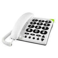Doro PhoneEasy 311c seniorentelefoon (wit)
