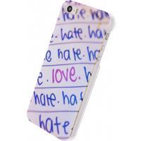Xccess Oil Cover Apple iPhone 5/5S/SE Love&Hate -