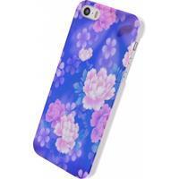 Xccess Oil Cover Apple iPhone 5/5S/SE Purple Flower -