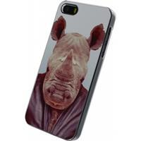 Xccess Metal Plate Cover Apple iPhone 5/5S/SE Funny Rhino -