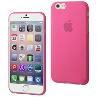 Muvit ultra thin cover - roze - voor Apple iPhone 6 Plus