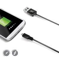 Celly datakabel micro USB 200 cm zwart
