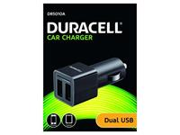 duracell Twin 2v CarCharger USB