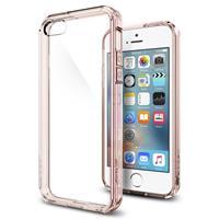 Spigen Ultra Hybrid Apple iPhone SE Case - 041CS20172 - Rose Crystal