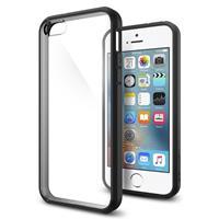 Spigen Ultra Hybrid Apple iPhone SE Case - 041CS20173 - Black