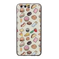 CasualCases ReliÌÇf softcase hoes voedsel Huawei P10