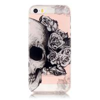 CasualCases Softcase hoes schedel iPhone SE / 5(s)