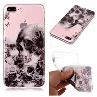 CasualCases Softcase schedel hoes iPhone 7 Plus / 8 Plus