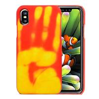 Apple Voor iPhone 8 Thermal Sensor Discoloration beschermings Back Cover hoesje,Small Quantity Recommended Bevoore iPhone 8 Launching(Oranje)