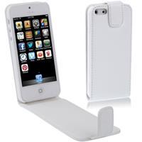 Apple Vertical Flip Soft lederen hoesje voor iPhone 5 & 5Swit