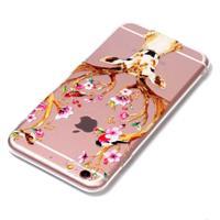 For iPhone 6 Plus & 6s Plus Cervus Nippon Pattern TPU Protective Case
