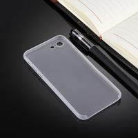 For iPhone 8 & 7 Ultrathin Superlight Transparent PP Protective Case(White)
