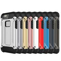 For iPhone 6 Plus & 6s Plus Tough Armor TPU + PC Combination Case(Black)