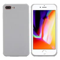 For iPhone 8 Plus & 7 Plus Dropproof Protective Soft TPU Back Case Cover (Grey)