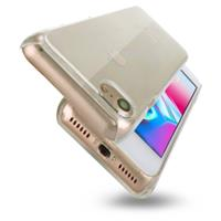 For iPhone 8 & 7 PC Transparent Protective Back Cover Case(Transparent)